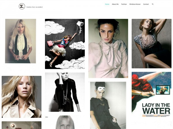 Web de María Paz
